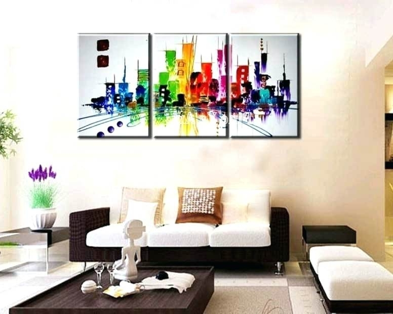 Three Piece Wall Art Sets 3 Piece Wall Art Sets For Living Room 4 Regarding Famous Wall Art Sets For Living Room (View 9 of 15)