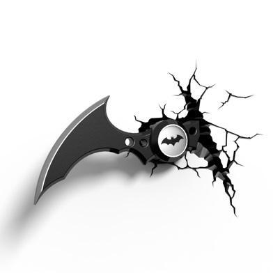 Throughout Most Popular Batman 3D Wall Art (View 14 of 15)