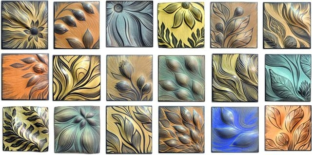 Tile Wall Art Blue Ceramic Tile Wall Art Outdoor Wall Art Decorative With Well Known Ceramic Tile Wall Art (View 15 of 15)