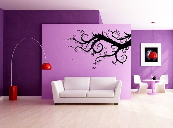Tim Burton Wall Decals Inside Recent Whimsical Burtonesque Branch Decal Vinyl Sticker Home Wall (View 13 of 15)
