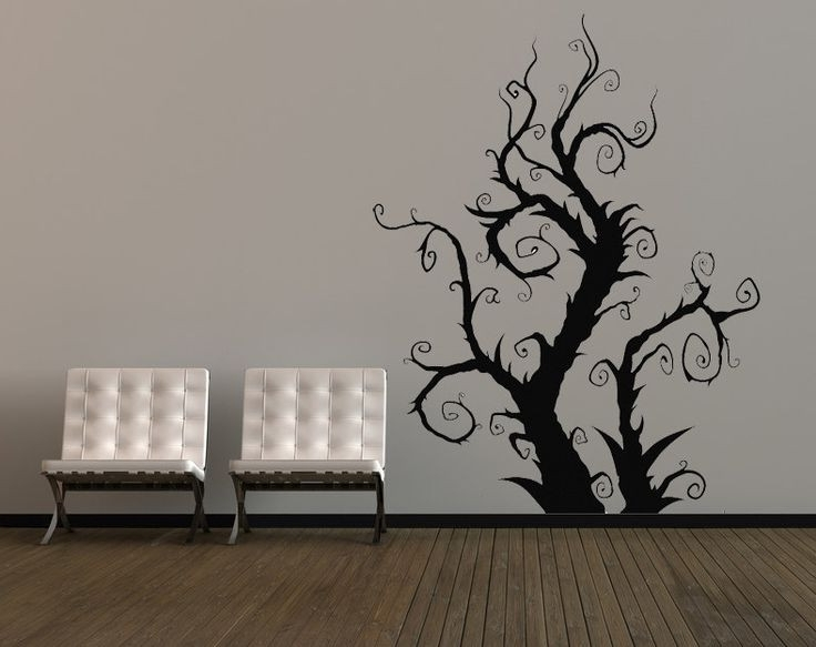 Tim Burton Wall Decals (View 4 of 15)