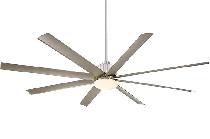 Top 10 Big Ceiling Fans At Lumens (View 15 of 15)