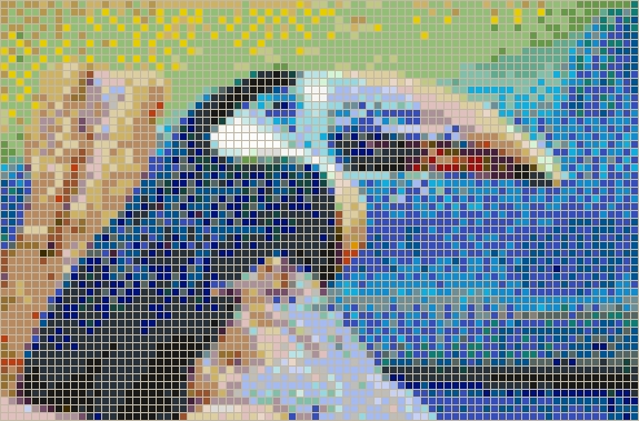 Toucan – Framed Mosaic Wall Art Throughout Widely Used Pixel Mosaic Wall Art (View 10 of 15)