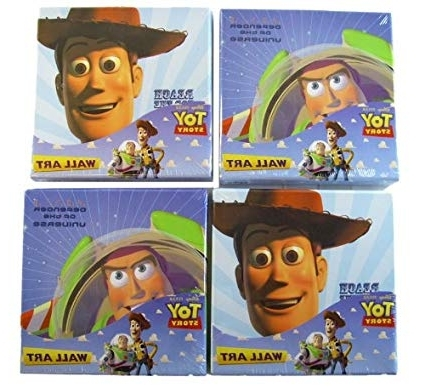 Toy Story Wall Art Inside Newest Amazon: Disney Toy Story Wall Art Set – Toy Story Buzz N Woody (View 10 of 15)