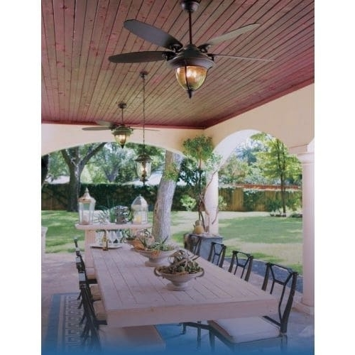 Traditional Outdoor Ceiling Fans Regarding Preferred Shop Miseno Traditional 56 Inch Indoor/outdoor Ceiling Fan With (View 5 of 15)