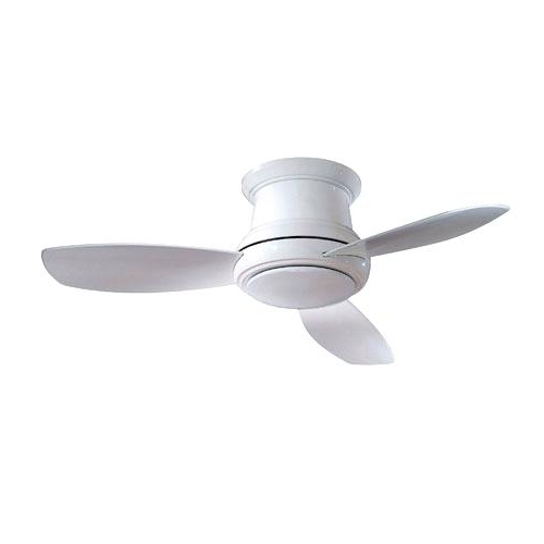 Trendy 36 Inch Outdoor Ceiling Fans Throughout 36 Inch Outdoor Ceiling Fan Concept Ii White Inch Flush Led Ceiling (View 2 of 15)