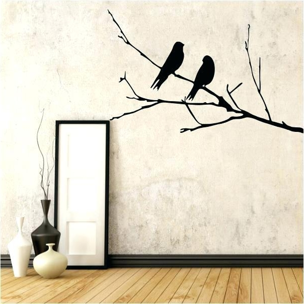 Trendy 3D Wall Art Birds Bedroom Wall Decor 3D Wall Art White Birds With Regard To White Birds 3D Wall Art (View 15 of 15)