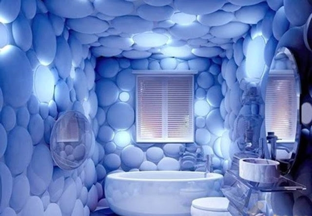 Trendy 3D Wall Art For Bathroom Pertaining To Decorative 3D Wall Panels For Unusual Wall Decor (View 6 of 15)