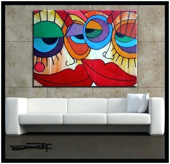 Trendy 48 X 48 Canvas Wall Art Modern Abstract Canvas Painting Wall Art 48 Intended For 48X48 Canvas Wall Art (View 11 of 15)