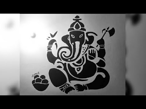 Trendy Abstract Ganesha Wall Art Intended For Making Of Lord Ganesha Wall Art (View 15 of 15)
