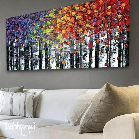Trendy Abstract Wall Art Canvas With Abstract Wall Art Art Abstract Acrylic Paintings On Canvas Modern (View 13 of 15)