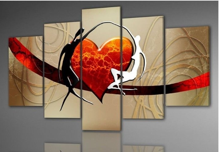 Trendy African Abstract Paintings On Canvas (View 13 of 15)