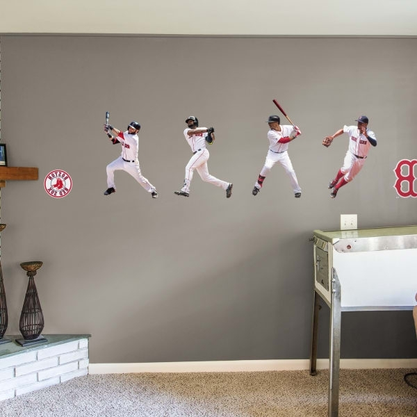 Trendy Boston Red Sox Fathead Wall Decals & More (View 6 of 15)
