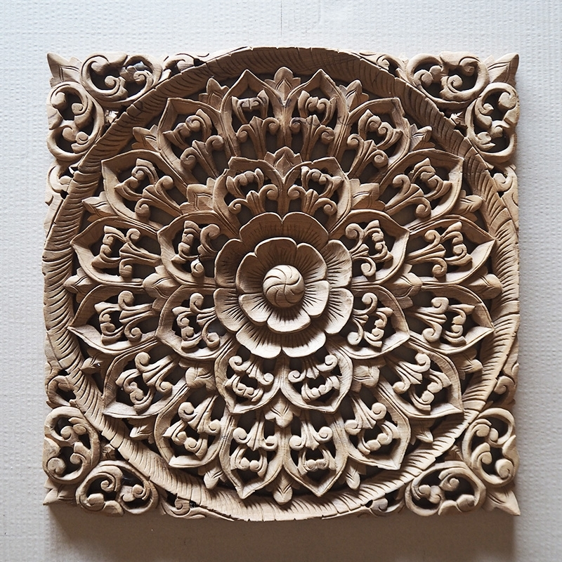 Trendy Buy Balinese Hand Carved Wood Wall Art Panel Online Within Balinese Wall Art (View 2 of 15)