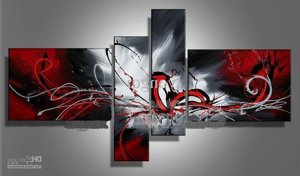 Trendy Cheap Modern Wall Art Within Online Cheap Hand Painted Hi Q Modern Wall Art Home Decorative (View 11 of 15)