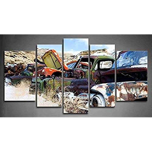 Trendy Classic Car Wall Art Throughout Classic Car Wall Art: Amazon (View 5 of 15)