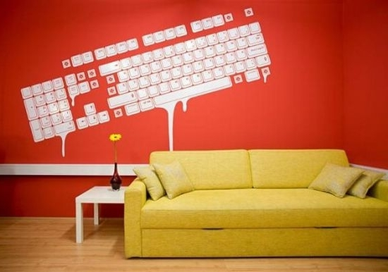 Trendy Computer Wall Art Within Wall Art Designs: Decals Wallpaper Computer Wall Art Desktop Vinyl (View 13 of 15)