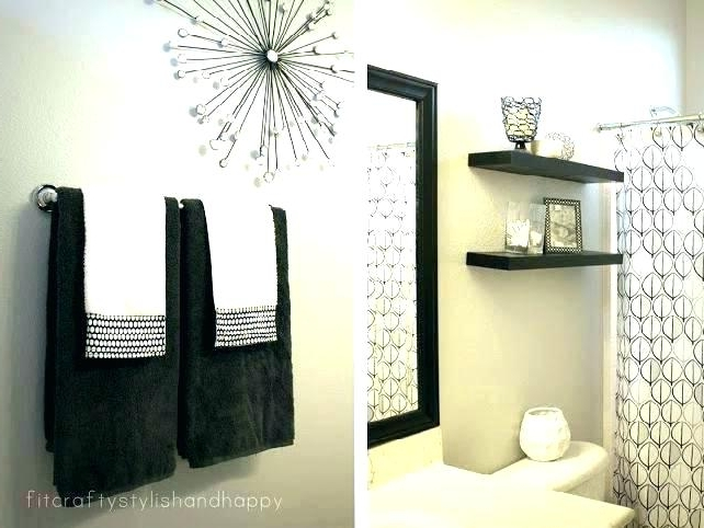 Trendy Contemporary Bathroom Wall Art Decor Modern Cool Ideas At Pertaining To Contemporary Bathroom Wall Art (View 14 of 15)