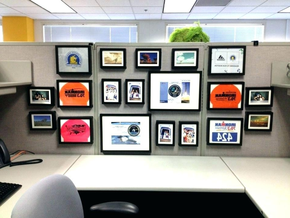 Trendy Cubicle Wall Art In Wall Art For Offices Cubical Picture Frames Office Cubicle Wall Art (View 15 of 15)