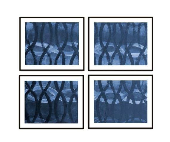 Trendy Dark Blue Abstract Wall Art Regarding Dark Blue Wall Art Wall Art Designs Navy Blue Wall Art Abstract Wall (View 14 of 15)