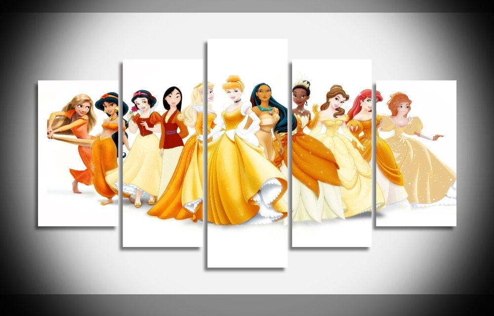 Trendy Disney Princess Framed Wall Art Within 43 Disney Princess Wall Art, Ariel, The Little Mermaid Inspired (View 12 of 15)
