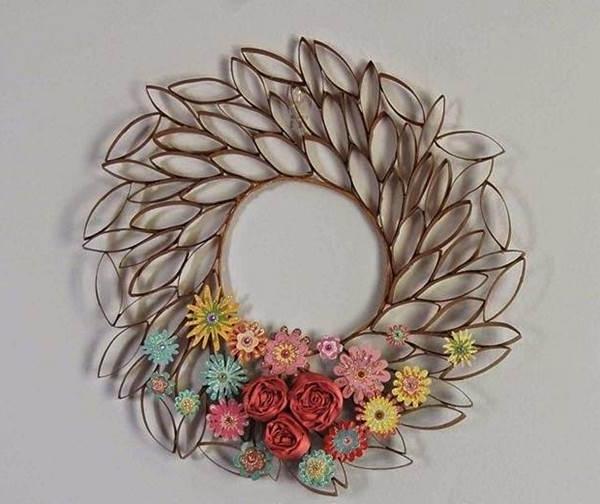 Trendy Diy 3D Paper Roll Flower Wall Art Regarding Diy 3D Paper Wall Art (View 8 of 15)