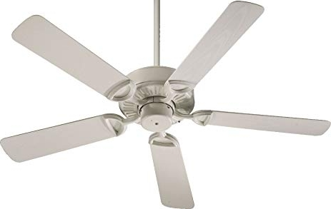 "Trendy Energy Star Outdoor Ceiling Fans With Light With Regard To Quorum 143525 67, Estate Patio Antique White Energy Star 52"" Outdoor (View 14 of 15)"