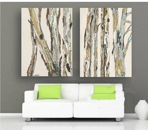 Trendy Huge Wall Art Canvas Intended For Extra Large Wall Art Diptych Set Canvas Oversized White Artwork (View 9 of 15)