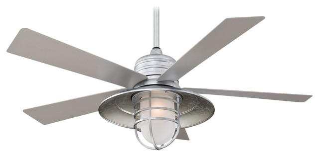 Trendy Industrial Outdoor Ceiling Fan With Light Best Home Depot Ceiling Intended For Industrial Outdoor Ceiling Fans (View 13 of 15)