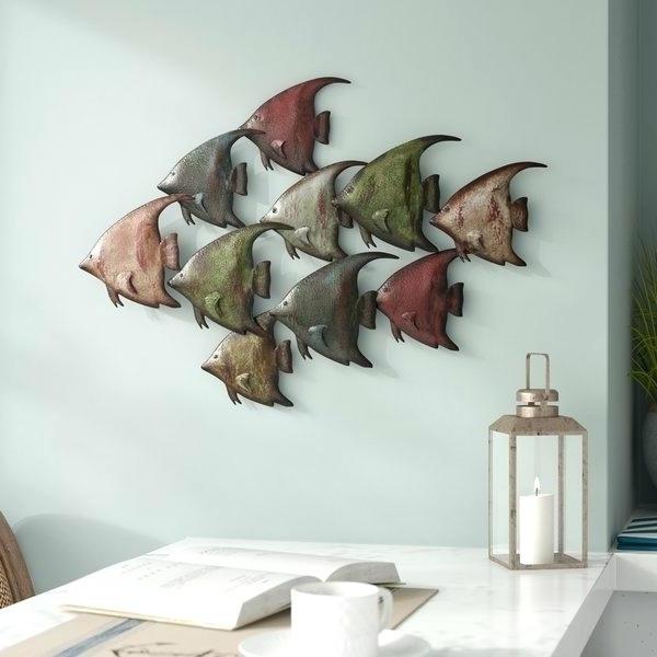 Trendy Metal Fish Wall Decor Large Starfish – Chann Inside Large Starfish Wall Decors (View 14 of 15)