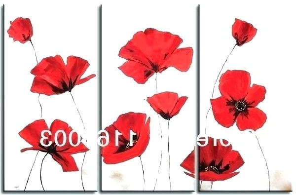 Trendy Metal Poppy Wall Art With Metal Poppy Wall Art Large – Bleepapp (View 12 of 15)