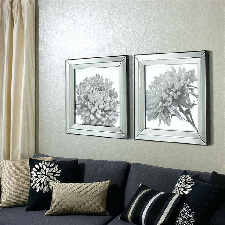 Trendy Mirrored Frame Wall Art Inside Mirrored Frames Wall Mirrored Frame Wall Art Wall Art Designs (View 13 of 15)