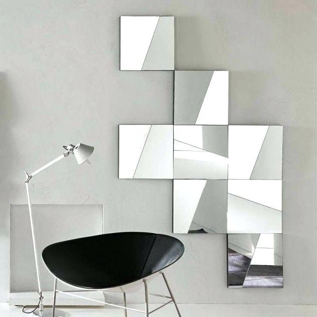 Trendy Modern Mirror Wall Art Regarding Modern Mirrored Wall Art Unique And Stunning Wall Mirror Designs For (View 12 of 15)