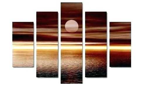Trendy Multi Piece 3 Panel Wall Art Abstract Paintings Modern Oil Painting Inside Multiple Piece Wall Art (View 10 of 15)