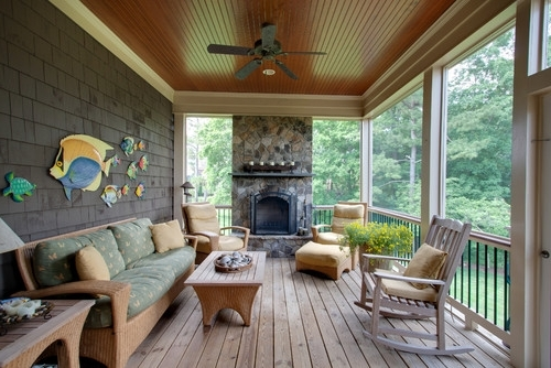 Trendy Outdoor Ceiling Fans For Porch with regard to Things To Consider When Buying An Outdoor Ceiling Fan