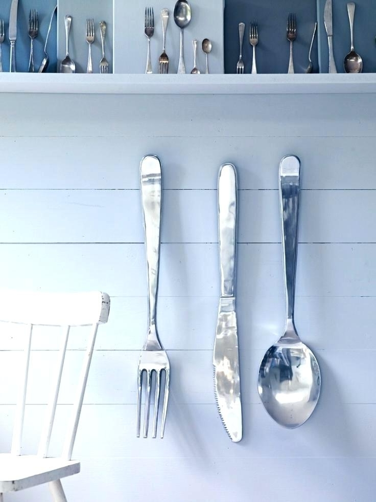 Trendy Oversized Cutlery Wall Art – Dannyjbixby In Oversized Cutlery Wall Art (View 13 of 15)