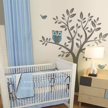 Trendy Owl Wall Art Stickers With Regard To Cheap Owl Wall Stickers For Nursery, Find Owl Wall Stickers For (View 12 of 15)