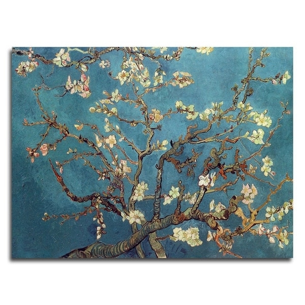 Trendy Shop Vincent Van Gogh 'almond Blossoms' Canvas Art – On Sale – Free In Almond Blossoms Vincent Van Gogh Wall Art (View 13 of 15)