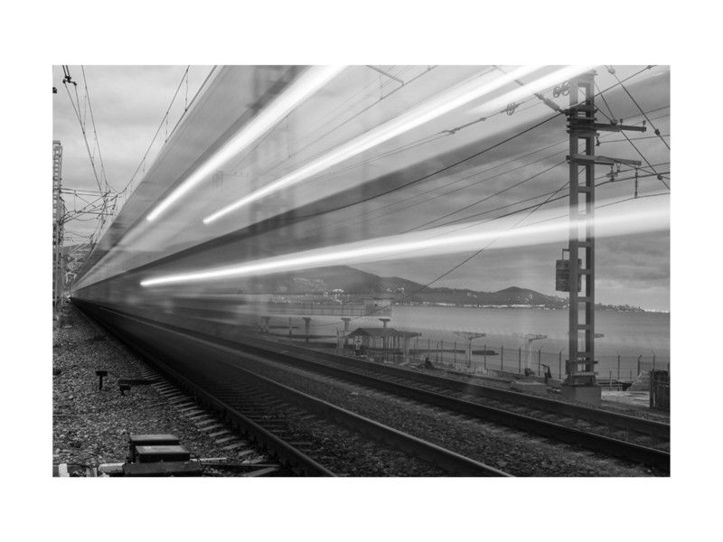 """Trendy Sochi Express"""" – Photography Limited Edition Art Printmark Kirby With Regard To Kirby Abstract Wall Art (View 8 of 15)"""