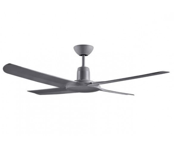 Trendy Ventair Malibu Ip55 – 1320Mm Abs 4 Blade Ceiling Fan – Ideal For Inside Outdoor Ceiling Fans For Coastal Areas (View 13 of 15)