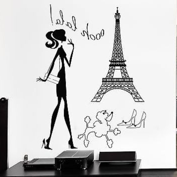 Trendy Wall Art Ideas Design : Hot Sexy Woman Paris Themed Wall Art Regarding Paris Theme Wall Art (View 13 of 15)