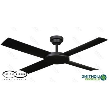 "Trendy White Revolution 2 52"" Indoor/outdoor Ceiling Fan With Remote For Indoor Outdoor Ceiling Fans With Lights And Remote (View 6 of 15)"