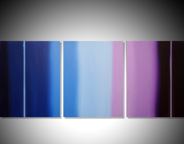 Triptych Painting Wall Art In Most Current Triptych Art For Sale (View 10 of 15)