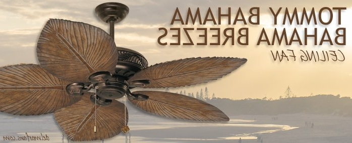 Tropical Ceiling Fans Inspiredthe Islands Within Most Recent Tropical Outdoor Ceiling Fans With Lights (View 12 of 15)