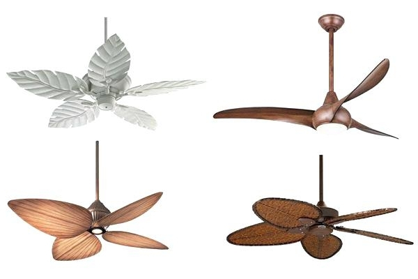 Tropical Outdoor Ceiling Fans With Lights For Most Recent Wondeful Tropical Outdoor Ceiling Fan A9703458 52 Casa Vieja Rattan (View 4 of 15)