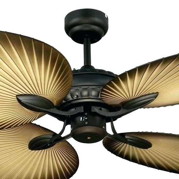 Tropical Outdoor Ceiling Fans With Lights Intended For Trendy Tropical Outdoor Ceiling Fans Ceiling Fan Tropical Fans Coastal Bay (View 7 of 15)