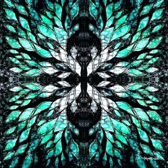 Turquoise And Black Wall Art With Favorite Turquoise And Black Wall Art Turquoise And Black Wall Art Wall (View 13 of 15)
