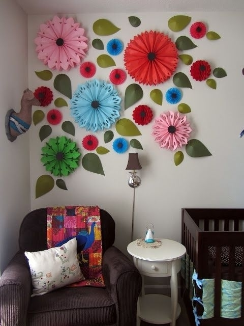 Umbra 3D Wall Art in Most Recently Released Umbra Flowers Wall Decor Ideas New 27 Amazing Diy 3D Wall Art Ideas
