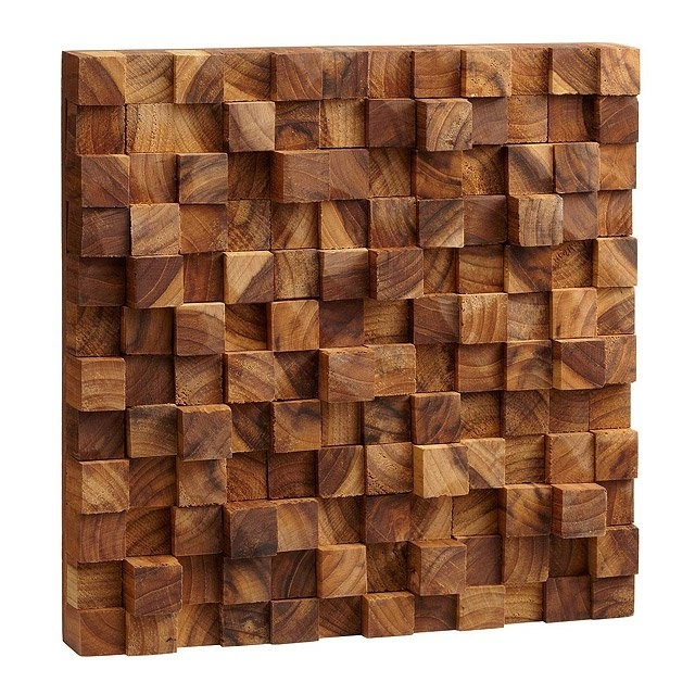 Uncommongoods Within Popular Wood 3D Wall Art (View 3 of 15)