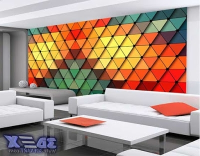 Unique 3D Wall Art Within Best And Newest Modern 3D Decorative Wall Panels And Covering Texture (View 8 of 15)